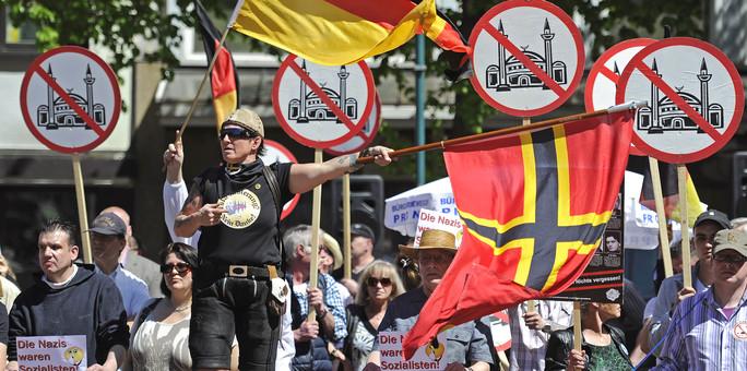 Alemania: Judíos y xenófobos, en una cruzada conjunta contra la inmigración musulmana